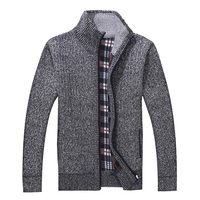 Winter Men S Turtleneck Sweatercoat Knitted Zipper Sweaters Casual Wool Liner Cardigan Coat Outerwear Basic Jackets
