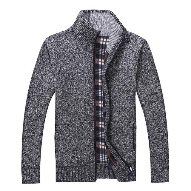 Aliexpress.com : Buy Winter Men's Turtleneck Sweatercoat Knitted ...