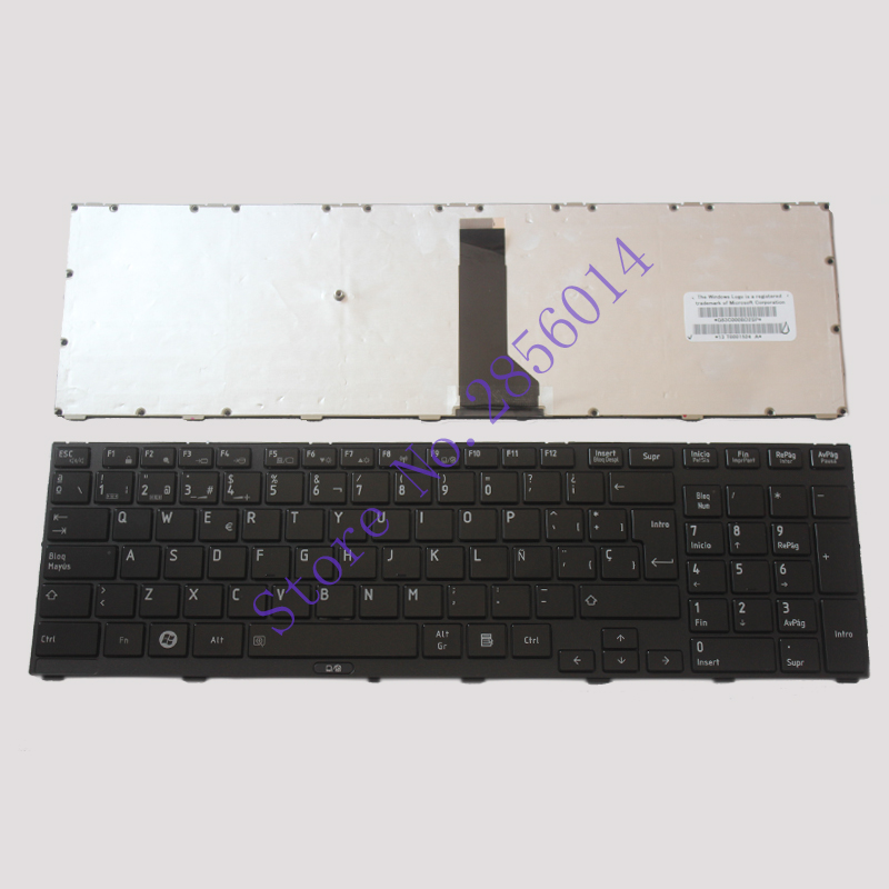 SP keyboard FOR TOSHIBA FOR Tecra R850 R950 R960 Spanish laptop keyboard susana wald spanish for dummies