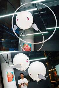 Image 3 - Pilot rekin zabawki powietrze pływanie ryby podczerwieni RC latające balony dekoracyjne Nemo Clown ryby dzieci zabawki prezenty strona dekoracji