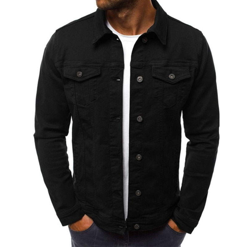 HTB1RCz7LHvpK1RjSZFqq6AXUVXaI 2019 men's Jacket casual overalls jacket jacket Coats Man Buttons