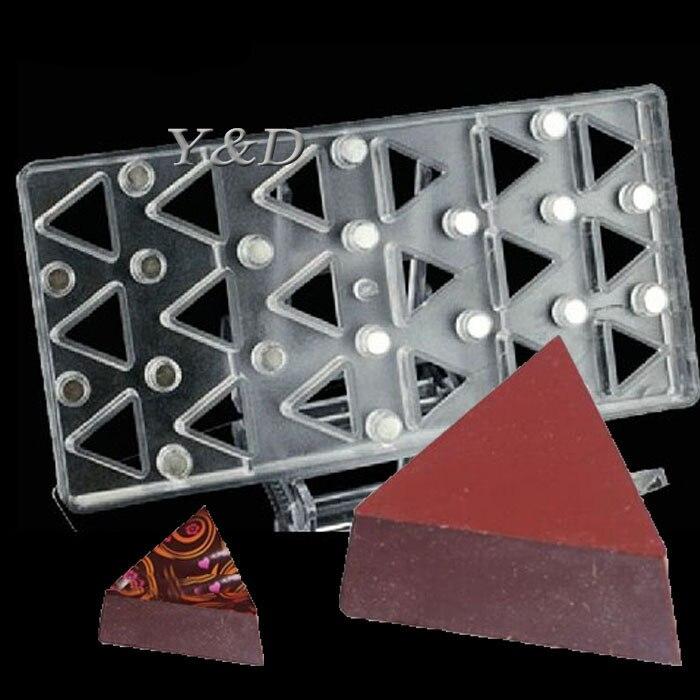 Trian GLE в форме Жесткий Поликарбонат Магнитная передачи ПК шоколада плесень с Сталь