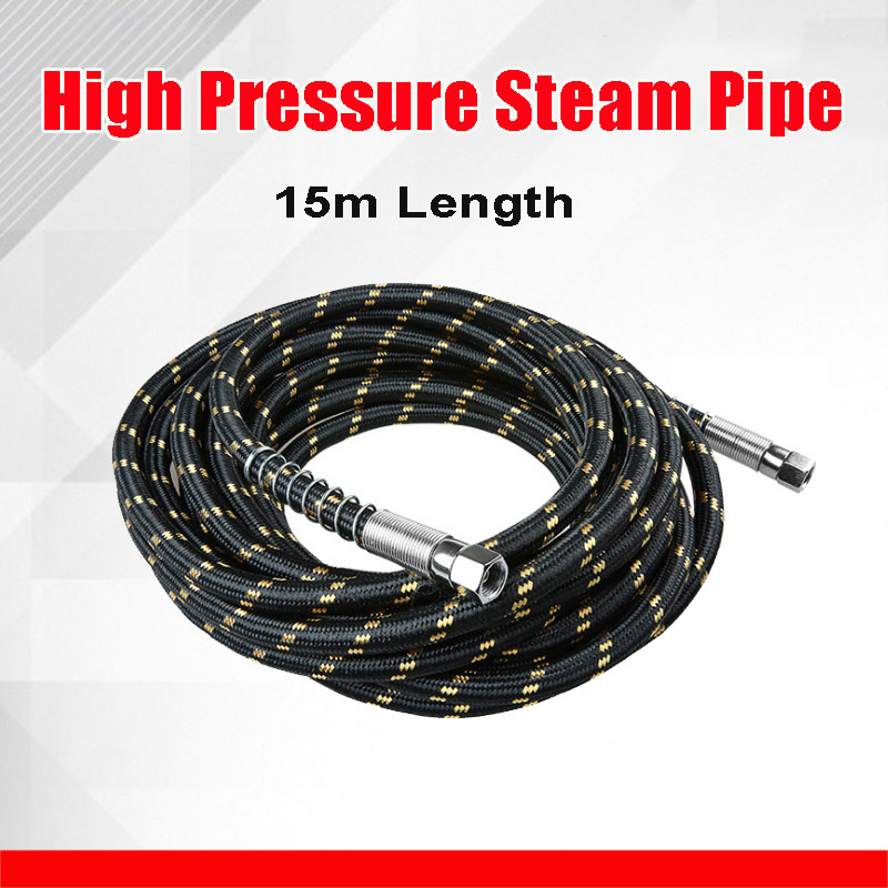 15 Meter Length High Pressure Steam Pipe Hose Thermal Insulation Tube Home Air Conditioner Parts 7mm Inside Diameter Silica Tube15 Meter Length High Pressure Steam Pipe Hose Thermal Insulation Tube Home Air Conditioner Parts 7mm Inside Diameter Silica Tube