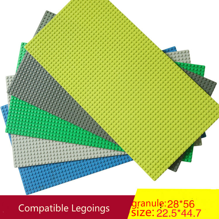 <font><b>32*32</b></font> 50*50 56*28 Dots Base Plate For <font><b>Baseplate</b></font> Board DIY Building Blocks Compatible Legoings Block Toys For Children Gifts image