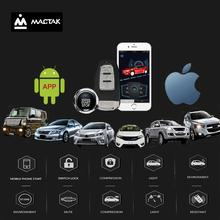 Car accessories Keyless Entry Comfort System PKE ios and  android mobile  Phone APP Remote Start Car Engine Car Alarm Push  963 все цены