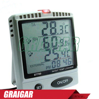 AZ87799 Desktop IN/OUT Humidity Temperature Datalogger,87799 IN/OUT TEMP.&RH% SD LOGGER