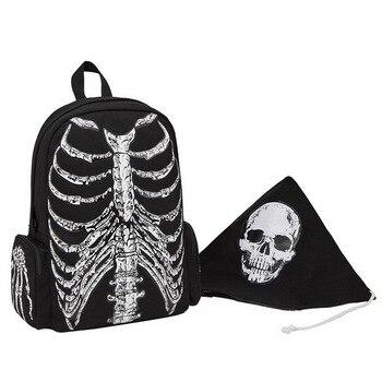 Skeleton Backpack 42 x 33 cm Unisex 1