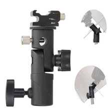 Foto Accessoires Camera Swivel Flash Bracket Shoe Paraplu Houder Studio Swivel Light Stand Adapter Voor Paraplu Beugel E Type