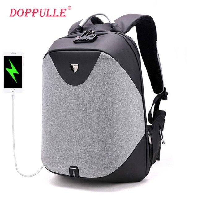 Бизнес-ноутбук рюкзаки мужские роскошные кодовый замок Anti-Theft рюкзак Многофункциональный USB зарядка повседневные мужские рюкзаки XD ДИЗАЙН