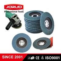 Flap grinding disc 10PCS / Set 100mm*16mm 155mm*22mm sanding discs 80 grit wheels Blades Angle Grinder Deburring|Power Tool Accessories| |  -