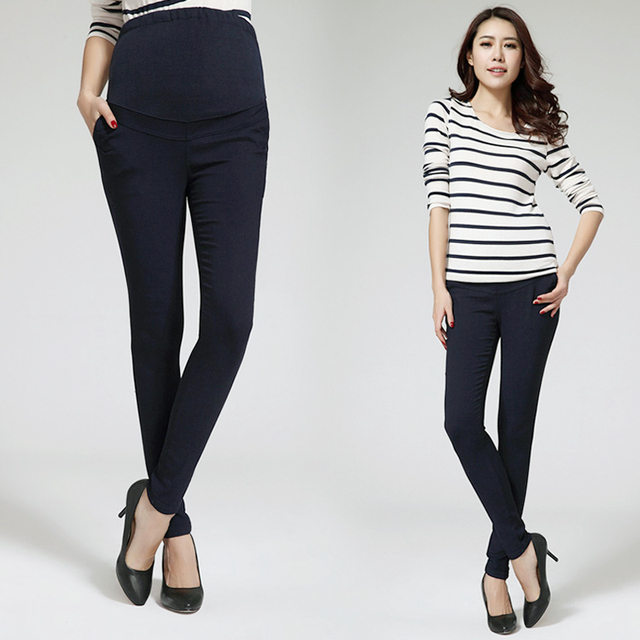 MamaLove High Quality Skinny maternity clothes Maternity trousers Pregnancy Pants For Pregnant Women Plus Size trousers