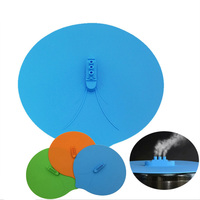 Steam Type Ship Shaped Food Grade Silicone Anti Spill Anti Splash Cover Microwave Heating Silicone Cover
