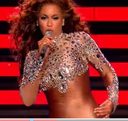 Beyonc nude color beyonce full rhinestone sexy long sleeve female     Beyonc nude color beyonce full rhinestone sexy long sleeve female singer  trigonometric costume