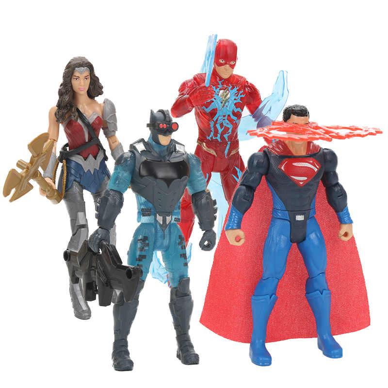 Action Figure PVC Toys DC Avengers Superman Batman Wonder Woman Model
