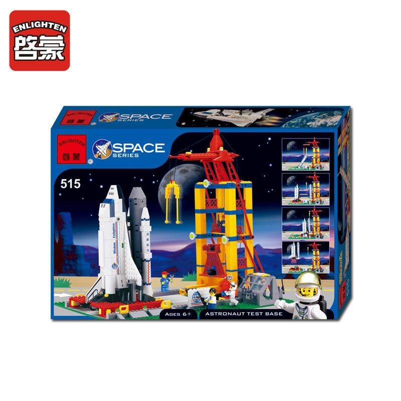 ENLIGHETN 515Aerospace Series Space Shuttle Launch Base Building Blocks Educational Toys Bricks  Give Children The Best Gift