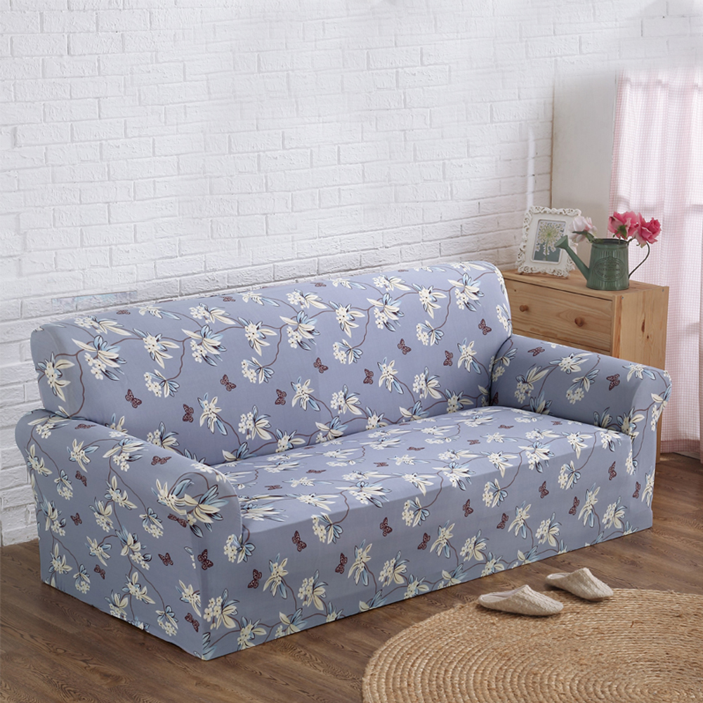 printed new cloth art spandex stretch slipcover sofa cover big elasticity couch cover loveseat sofa funiture