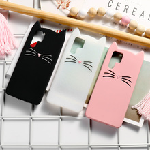 Cat Case For Huawei P30 P20 Pro P10 Lite P Smart Cases Soft Silicone Cover For Huawei Honor 8X 9 10 Lite 7C Y7 Y9 2019 Y6 2018 smart flip case for huawei p30 pro lite honor 9x 9xpro mirror cases for huawei y6 y7 y8 y9 honor 20i lite p smart 2019 plus case