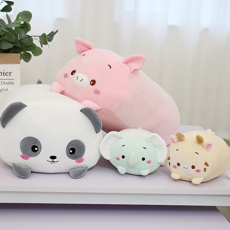Cute Cartoon Animal Pillow Plush Toy Bear Doll Cat Pillow Cushion Children Birthday Gift Stuffed Animal Plush Toys For Kids GirlCute Cartoon Animal Pillow Plush Toy Bear Doll Cat Pillow Cushion Children Birthday Gift Stuffed Animal Plush Toys For Kids Girl