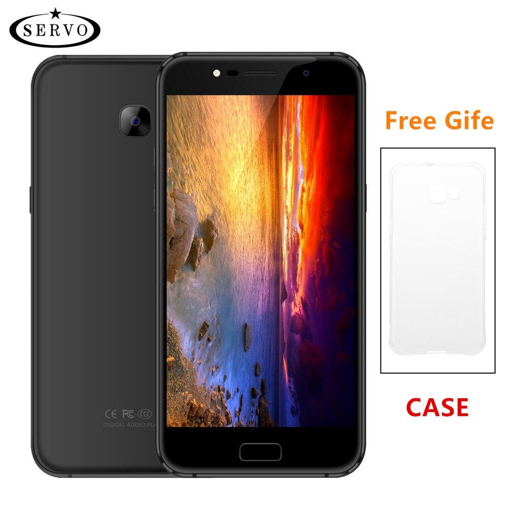 D'origine Téléphone SERVO A77 5.5 pouce Android 7.0 MTK6580M Quad Core Smartphone 1 GB RAM 8 GB ROM Caméra 8.0MP GPS WCDMA Mobile Téléphones