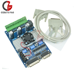 3 Axis TB6560 Stappenmotor Driver Controller Board 3.5A CNC DC Motor Drive Board voor Unipolaire Bipolaire Stappenmotor