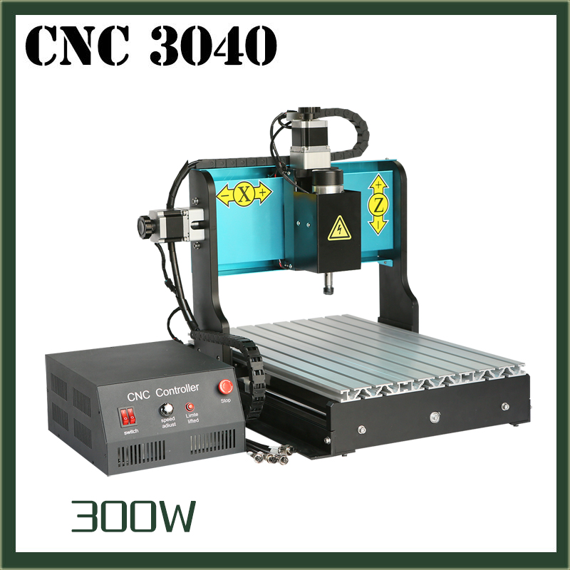 JFT New Design 300W Engraving Machines with  4 Axis CNC Machine with Parallel Port Good Price CNC Router 3040 jft cnc 3040 router 800w 4 axis parallel port new type high precision easy operate cnc3040 cutting router engraving machine