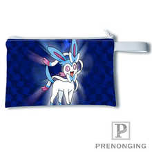 Custom eevee (3)@Printing Coin Purse Change Purse Zipper Zero Wallet Phone Key Bags Fashion Small Female Purse#19-01-22-4-203(China)