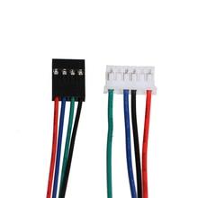 NEMA17 провода шагового двигателя кабель RepRap проводки Dupont 4PIN 6in кабель двухфазного 42 Шаговый двигатель кабель XH2.54 разъем 5 шт./лот