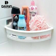Настенный Тип Пластик полу-Круглый Стеллаж для хранения Ванная комната Стойки съемный Аксессуары для ванной комнаты Многофункциональный уголок Рамка