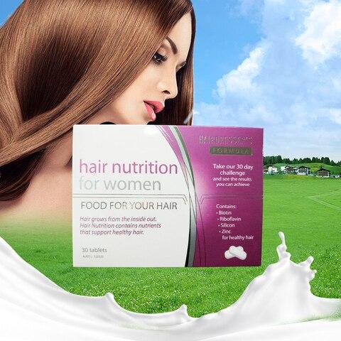australia 30 comprimidos de nutricao do cabelo para o cabelo das mulheres de apoio a