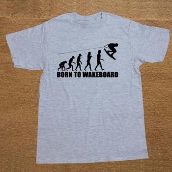 Creative Born To Wakeboard Evolution Christmas Gift T Shirt Funny Tshirt