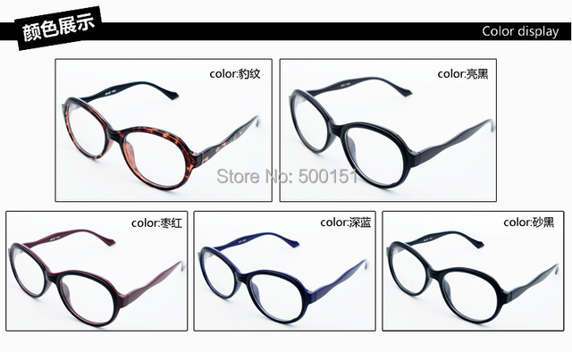 Prescrição frame Ótico Full-aro armações de Óculos quadro Retro Rodada Alto grau Dobradiça de Mola Homem óculos TR-90 quadro Livre navio