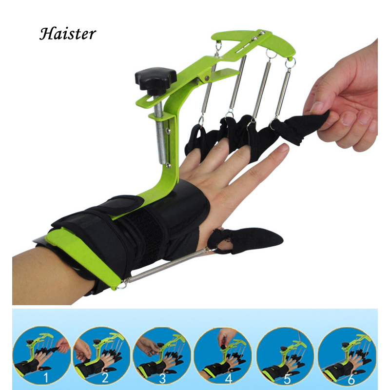 1PC Dynamic Wrist finger Hand PHYSIOTHERAPY REHABILITATION Training Orthosis for Apoplexy Patients Tendon repair