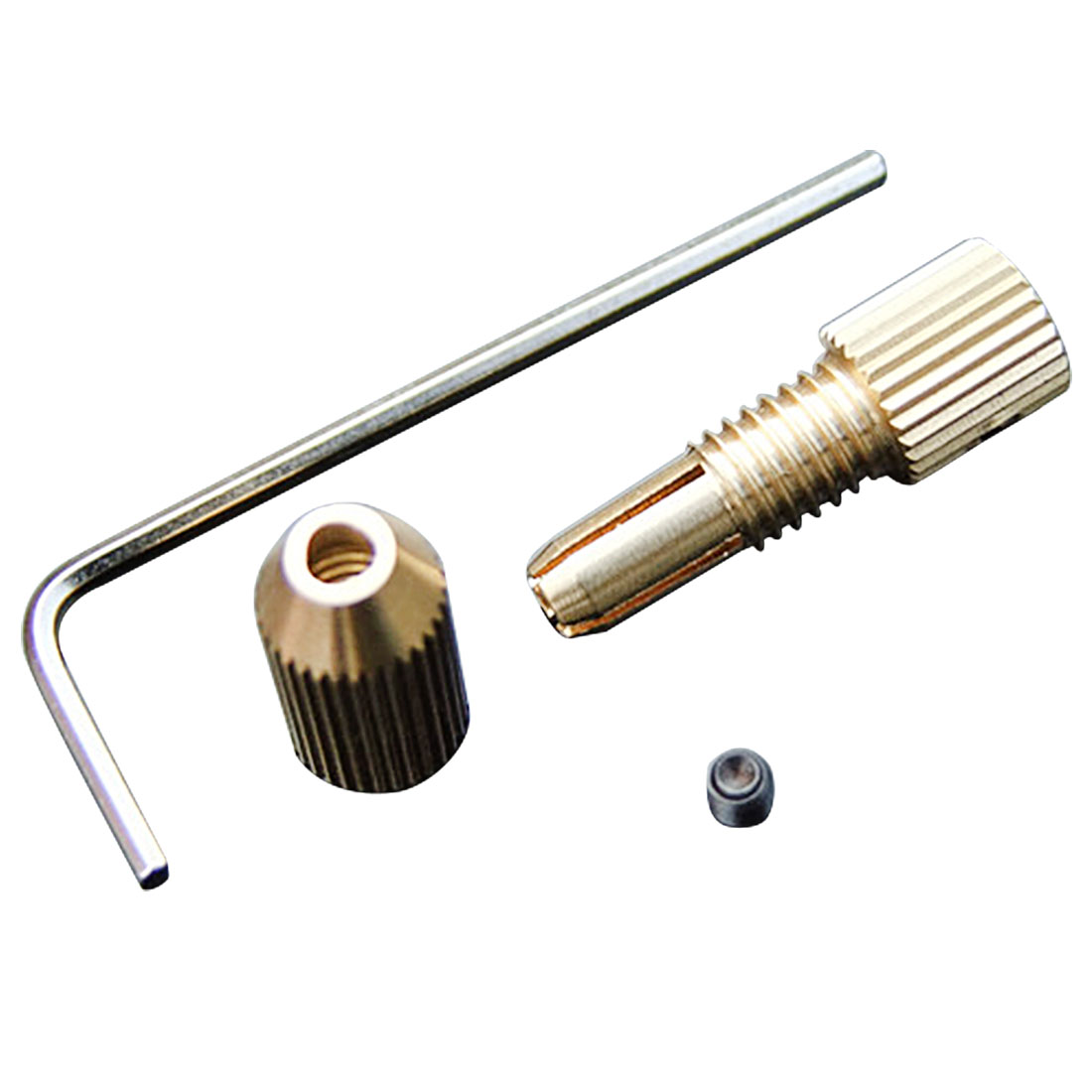 0.8mm-1.5mm Drill Micro Drill Bit Clamp Fixture Chuck 2.0mm Brass Electric Motor Shaft Clamp Fixture Chuck Mini Small