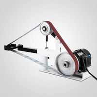 2x82 Variable Speed Belt Grinder Machine PH 427 X 12 Grinding Wheel Abrasive Belt Sander