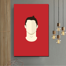 Cristiano Ronaldo Mobile Wallpaper Minimalist HD Canvas Painting Prints Living Room Home Decor Modern Wall Art Painting Posters