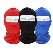 Новая велосипедная маска для лица Лыжная защита шеи наружная Балаклава маска для всего лица ультра тонкая дышащая ветрозащитная 8 цветов