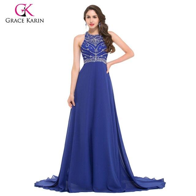 Aliexpress.com : Buy Grace Karin Rhinestone Evening Gowns 2017 ...