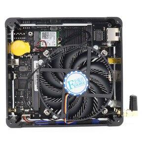 Image 5 - 2019 أحدث S200 Nuc إنتل i7 8750H 6 Core 12 المواضيع كمبيوتر مصغر ويندوز 10 برو DDR4 i5 8300H التيار المتناوب واي فاي كمبيوتر مكتبي HDMI Mini DP