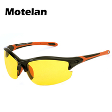 2017 New Men Women Polarized Night Vision Glasses TR90+Rubber Top Quality Anti-glare Safety Driving At Night Sunglasses 8632Y