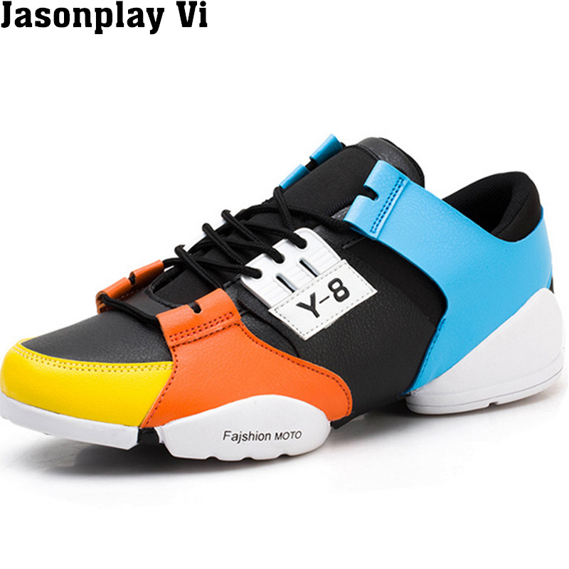 ФОТО Jasonplay Vi & 2016 New Brand Fashion Breathable high-top Man shoes personality Autumn winter style Comfortable Shoes Men WZ430
