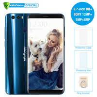 Ulefone Mix 2 5.7 inch HD+ 13MP Dual Cameras Mobile Phone MTK6737 Quad Core Android 7.0 2GB+16GB Fingerprint 4G Smartphone