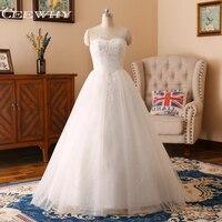 CEEWHY Strapless Crystal Beading Wedding Dress A Line Brautkleider Hochzeitskleid Bridal Dress Vestidos de Noiva Wedding Gown