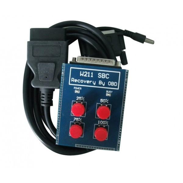 Newest OBD for benz sbc tool W211/R230 ABS/SBC TOOL (Repair Code C249F) high quality & free shipping