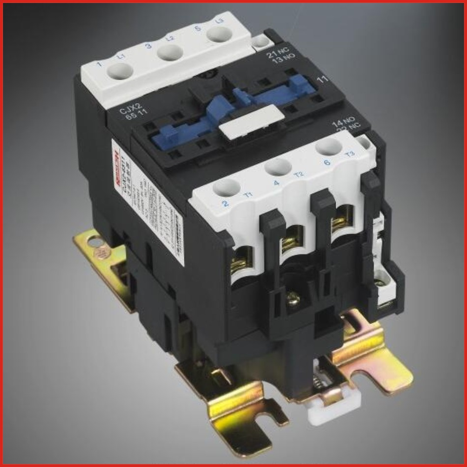 Contactor DC AC contactor 220V 380V low voltage apparatus switch mini hdmi LC1D series contactor old type CJX2-D65(LC1-D65)