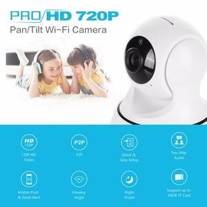 Image 2 - Sannce Hd 720P 1080P Draadloze Ip Camera Smart Cctv Security Camera P2P Netwerk Babyfoon Home Serveillance Wifi camera