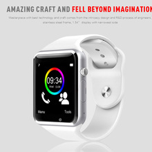 free shipping A1 WristWatch Bluetooth Smart Watch Sport Pedometer With SIM Camera Smartwatch For Android Smartphone Russia T50