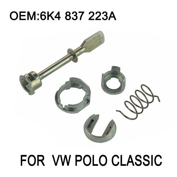 VW POLO 9N DOOR LOCK CYLINDER REPAIR KIT FRONT RIGHT 6K483722