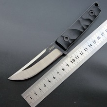 Eafengrow EF101 Fixed Blade Knife 440C Blade+G10 Handle Outdoor Hunting Knife Survival Tactical Knife EDC Tool Chicken Knife