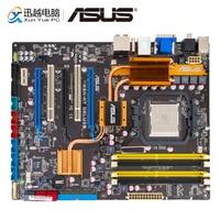 Asus M3N HT DELUXE Desktop Motherboard NVIDIA nForce 780a SLI Socket AM2/2+ Support Phenom Athlon Sempron DDR2 8GB SATA2 ATX