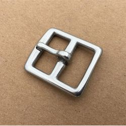 50 Pieces/Lot Stainless Steel Pin Buckle , Leathercraft Buckle  2cm W003